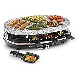 Klarstein All-U-Can-Grill Raclette Tischgrill (1500 Watt, 4-in-1-Gerät,...