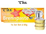 TILL Sicherheits-Brennpaste Set´s á 80g
