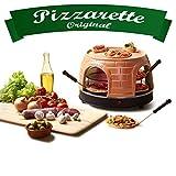 Emerio Pizzaofen, PIZZARETTE das Original, handgemachte Terracotta...