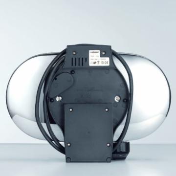 cloer-1329-doppelwaffelautomat-seitenansicht