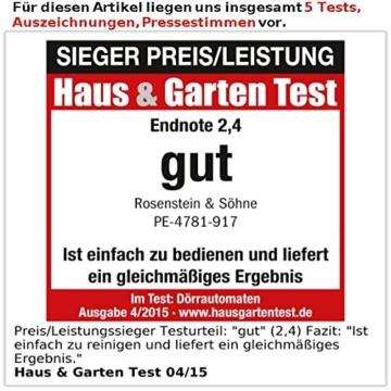 rosenstein-soehne-doerrautomat-dh-25-test