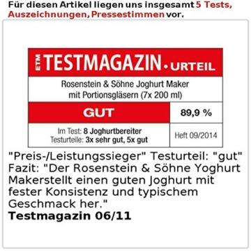 rosenstein-soehne-joghurtbereiter-test