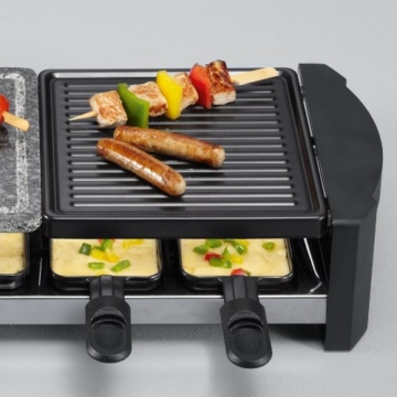severin-rg-2683-raclette-im-betrieb
