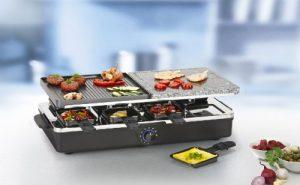 tristar-ra-2992-raclette-im-betrieb