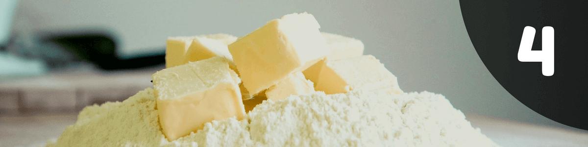 pizzateig-butter