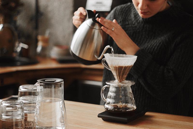 Wasserkocher für Kaffee