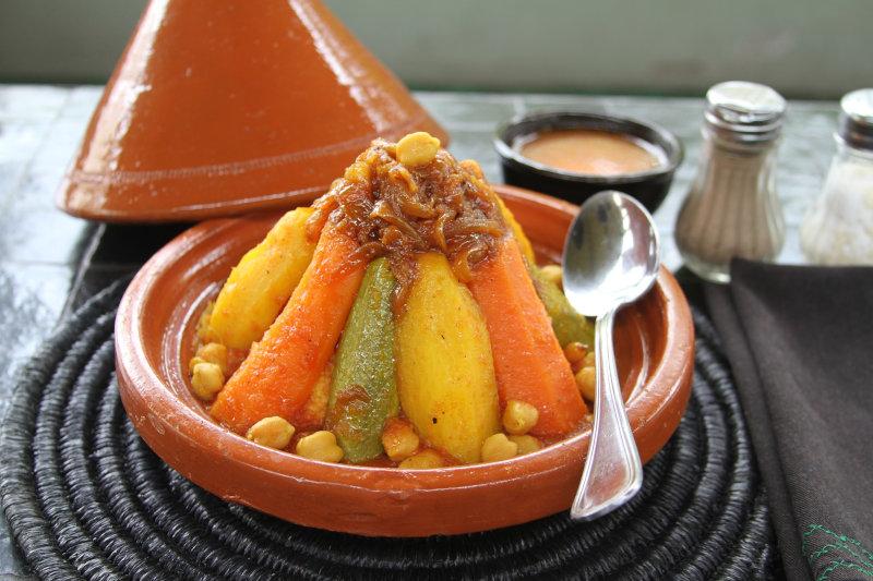 Couscous in Tajine