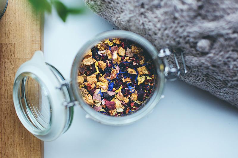 Teedose mit Bügelverschluss