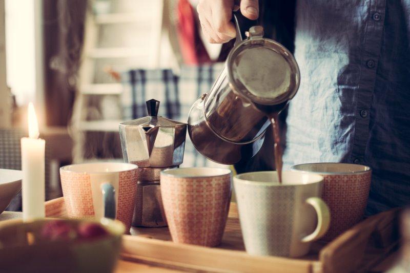 Espressokocher für Induktion Test