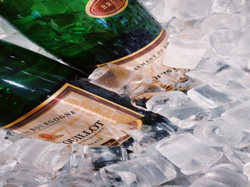 Flaschenkuehler Champagner